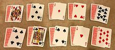 TWO CARD MONTE x 10 sets EASY MAGIC CARD TRICK PARTY FAVOR