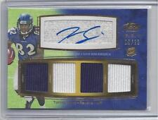 TORREY SMITH 2011 TOPPS PRIME LEVEL VI 6 GOLD QUAD JERSEY AUTO RC #D 9/25