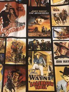 John Wayne Fabric 1 Full Yard