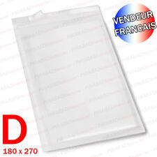 LOT 100 ENVELOPPE A BULLES D'AIR D 180x270 +50% DE BULLES - SANS LOGO / VIERGE