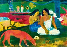 Puzzle Arearea - Gauguin, 1000 Teile, Malerei, Kunst, Südsee, Tahiti, Bluebird