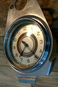 1937 Ford Electric Clock Reconditioned! Runs! Immaculate!
