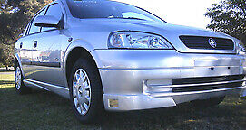 TS GTZ SII Front Spoiler Suits Holden Astra Fibreglass