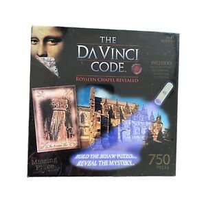 The Da Vinci Code Rosslyn Chapel Revealed Jigsaw Puzzle, 750 Piece UV Flashlight