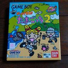 Nintendo Game Boy Tamagotchi 2 Japanese Gameboy GB Bandai With Box 1997 NTSC-J