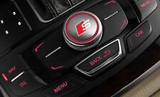 2x Audi S-line MMI Idrive button decal sticker logo A3 A4 A5 A6 A7 RS RS4 Q