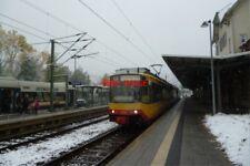 PHOTO  2012 GERMANY RAILWAY FREUDENSTADT HBF TRAM NO 910