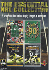 NRL - Essential NRL Collection 80's, 90's, Greatest Tries & Players (4 Disc DVD)