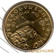 Slovénie 2011 - 50 Centimes d'Euro 15000 exemplaires Provenant du coffret BU RAR