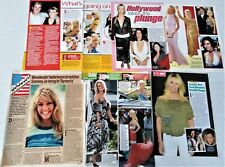Heather Locklear magazine clippings - Melrose Place, Dynasty, TJ Hooker actress