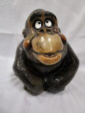 Vintage John Raya Beasties Of The Kingdom Gilda Gorilla Figurine