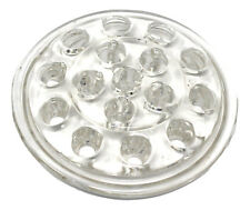 Clear Pressed Glass 16-Hole Domed Flat Bottom Flower Arranging Frog