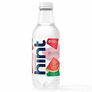 Hint Water Watermelon Bottles 16 Ounce Pack of 12  Pure Water Infused with Wa...