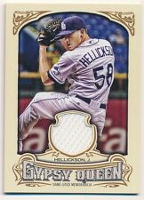JEREMY HELLICKSON 2014 TOPPS GYPSY QUEEN RAYS RELIC GAME USED JERSEY SP