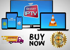 Premium IP TV Subscription For 1YEAR Smart TV+ Lives and VOD  +8000 HD Channels