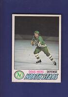 Doug Hicks RC 1977-78 O-PEE-CHEE OPC Hockey #361 (EXMT+) Minnesota North Stars