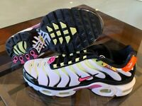 Nike Women's Air Max Plus Have a Nike Day White Hyper Pink Black CU4747-100