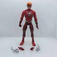 "Wally West Flash Dc Multiverse Ninja Batman Baf Wave Loose 6"" Teen Titans"
