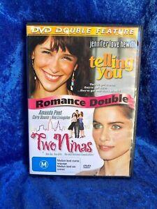 2 Movie Pack Telling You / Two Ninas Region 4 DVD Free Postage