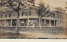 C71/ Burlington Junction Missouri RPPC Postcard c1910 Mineral Springs Sanitarium