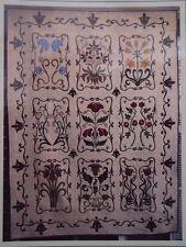 A WILLIAM MORRIS GARDEN - applique quilt PATTERN - Michele Hill