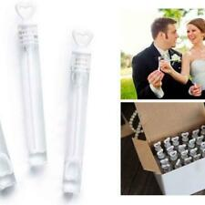12pcs Wedding Party Xmas Bubble Bottles Love Heart Soap Water Test Tube Fashion