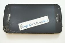 OEM Samsung Galaxy S2 SGH-T989 LCD Digitizer Frame CRACKED LENS WATER DAMAGE
