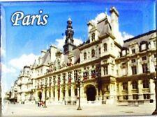 Magnet Paris Frankreich ,8 cm,Rathaus Hotel de Ville,Souvenir France