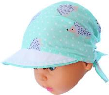 Kopftuch Baby Kinder Sommer Mütze Schild Mützchen Kopfbedeckung Bandana 36-45