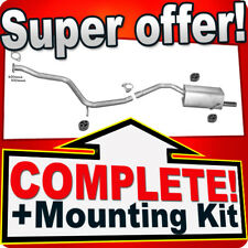 Alfa Romeo 156 1.9 JTD Also Estate 1997-2001 Silencer Exhaust System L08
