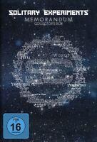 SOLITARY EXPERIMENTS - MEMORANDUM (COLLECTOR'S BOX) 3 CD + DVD NEU