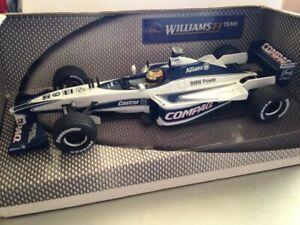 Hot Wheels 1:24 Scale Williams BMW FW22 Ralf Schumacher 2000