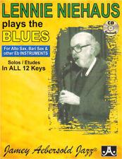 Lennie Niehaus Plays the Blues Aebersold 42 Eb Noten mit CD