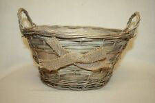 Unbranded Wicker Round Decorative Baskets