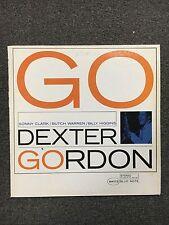 Dexter Gordon Go! LP Vinyl 1984 Reissue Blue Note Jazz Stereo Sonny Clark Higgin