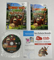 Donkey Kong Country Returns (Nintendo Wii, 2010) Complete w/ Manual - TESTED