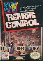 MTV Remote Control Nintendo NES Game Used