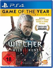 PS4 jeu Witcher 3: Sauvage Hunt - Game of the Year Edition Jeu de l'année