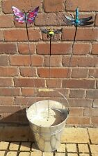 Cuffy's Metal creatures Bee Dragonfly Butterfly garden hand made in Devon gift