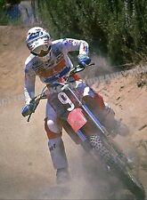 Johnny O Mara #9 Honda 1982 Carlsbad 12 x 18 Art Photo Vintage Motocross Honda