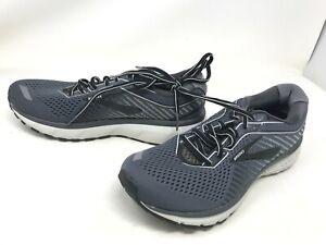 Mens Brooks (1103161D075) Ghost 12 Black/Pearl/Oyster Sneakers (420N)