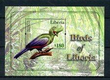 Liberia 2010 MNH Birds of Liberia 1v S/S I Guinea Turaco Stamps
