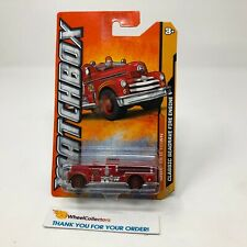 Classic Seagrave Fire Engine * RED * Matchbox * JC23