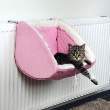 Cat Kitten Princess Adjustable Radiator Bed, Quilted, Plush stable metal frame
