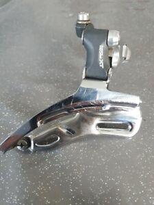 Shimano Deore XT retro front mech, Derailleur FD-M738. 34.9mm bottom pull.