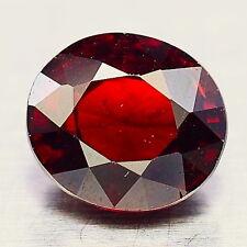 TOP SPESSARTINE : 3,78 Ct Natürlicher Roter Spessartin / Spessartit Granat