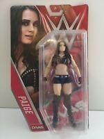 WWE - Paige Figure - Basic Series 57 - Mattel - 2015 - DJR21 (551)
