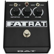 Pro Co Fat Rat Selectable Mosfet Clipping Boost Distortion Guitar Effects Pedal