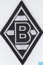 """Aufnäher / Aufbügler + Borussia Mönchengladbach + Vereinsemblem Signet Raute """"B"""""""