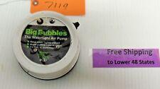 Marine Metal Products BIG BUBBLES The Watertight Air Pump 1 1/2 Volt 2 D Battery